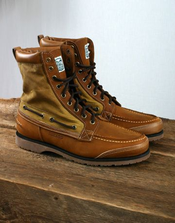 142d8b7c552 SEBAGO - FILSON X SEBAGO OSMORE BOOT - TAN LEATHER AND OILED WAX ...