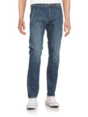 RAG & BONE Straight-Leg Jeans. #ragbone #cloth #jeans