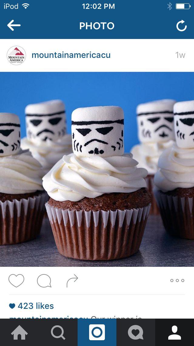Storm Trooper Cupcake                                                                                                                                                                                 More