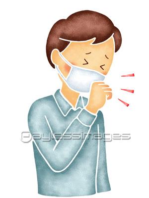 マスクをして咳をする男性の写真 イラスト素材 Gf1060176925 ペイレスイメージズ 医療イラスト イラスト 男性の写真