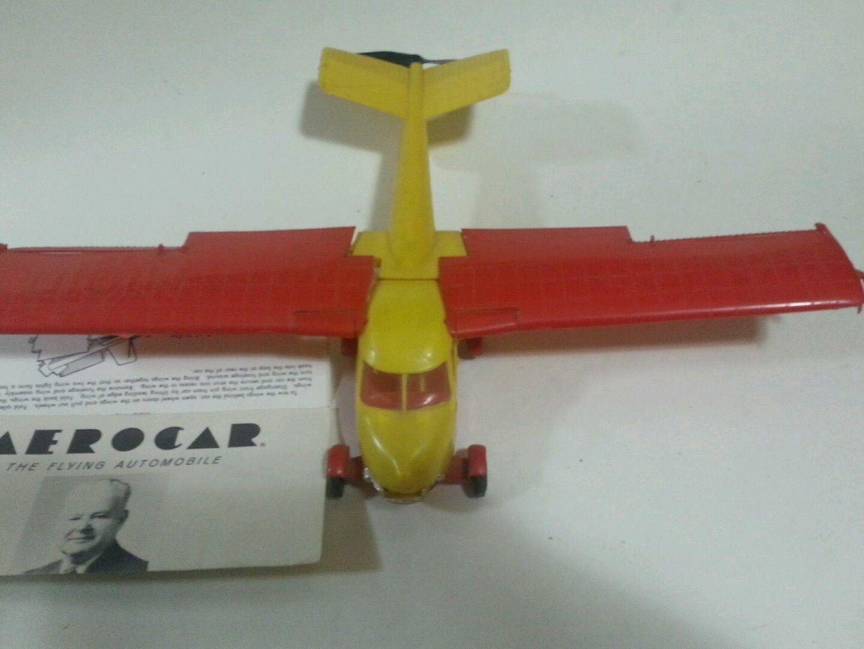 Vintage Aerocar Plastic Model Flying Car Kit by Gladen