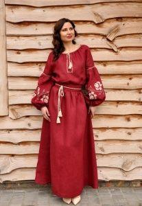 Жіноче плаття в українському стилі П24-266  13030c0a0140e
