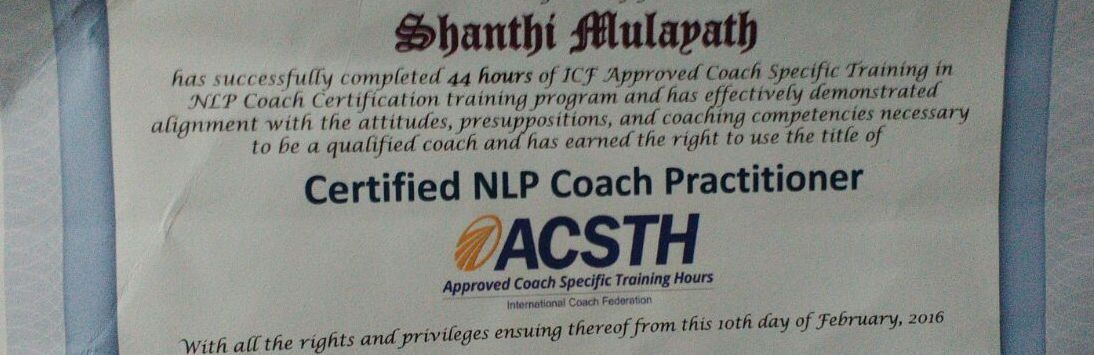 Anil Dagia's ICF + NLP Practitioner Dual Certification ...