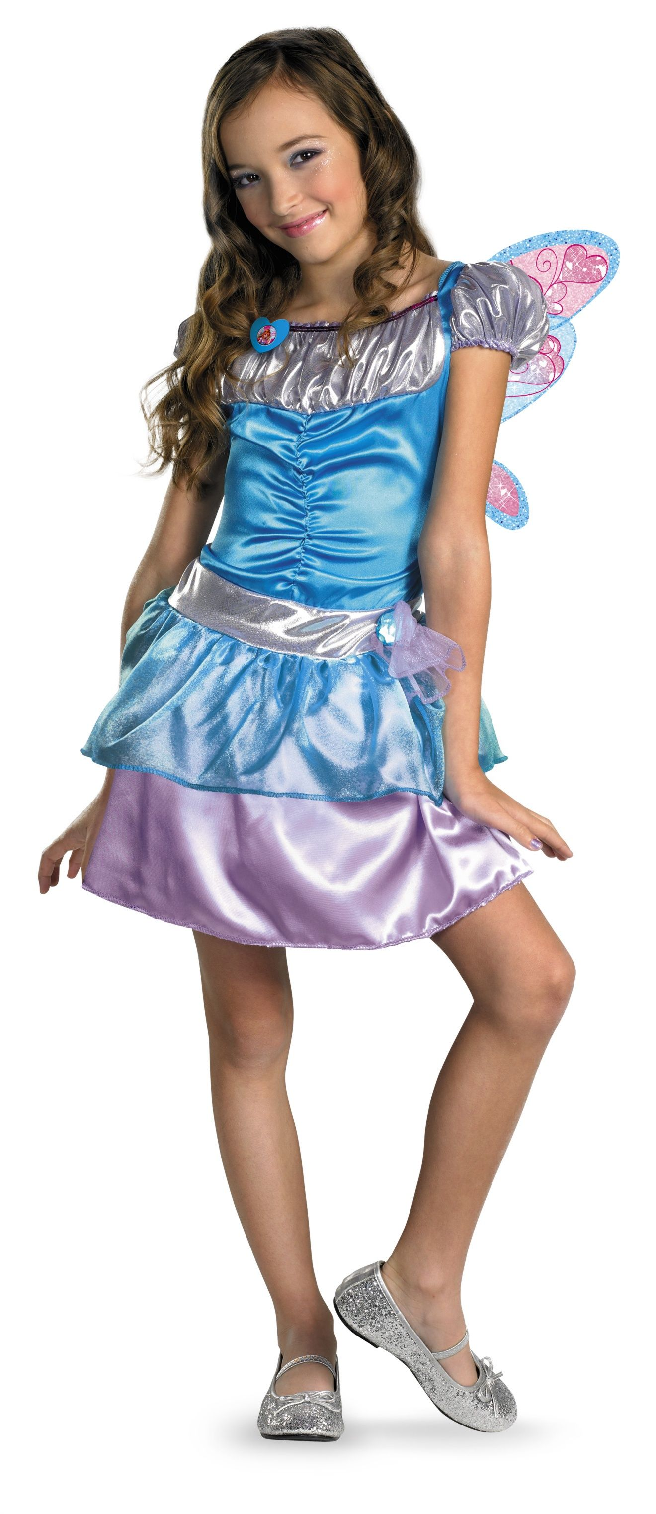 new bloom girls costume winx club by disguise 45879 nickelodeon - Clearance Halloween Costumes Kids