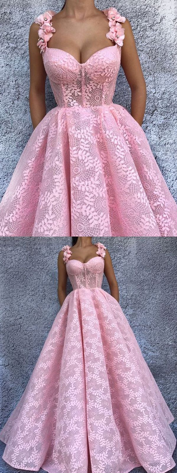 Ball gown prom dress pink vintage lace african prom dress vb
