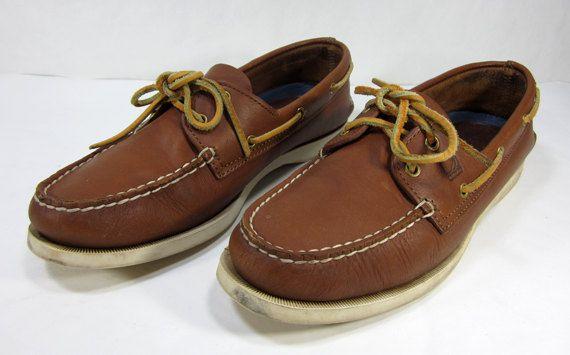 Sperry TopSider Brown Boat Docker Shoes