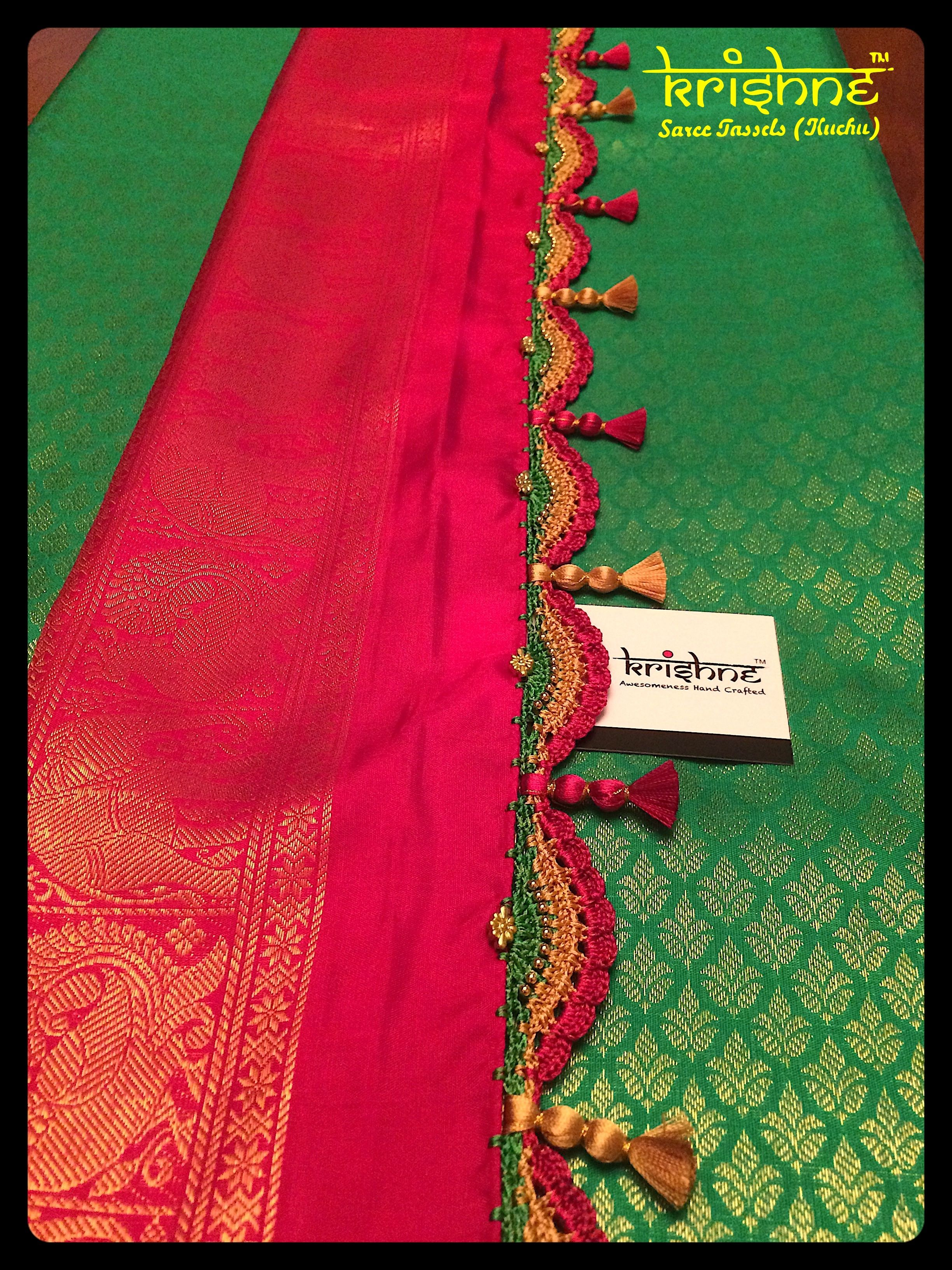 1b364049455407 Best Bridal Saree Tassel Kuchu from Krishne Tassels | Saree ...