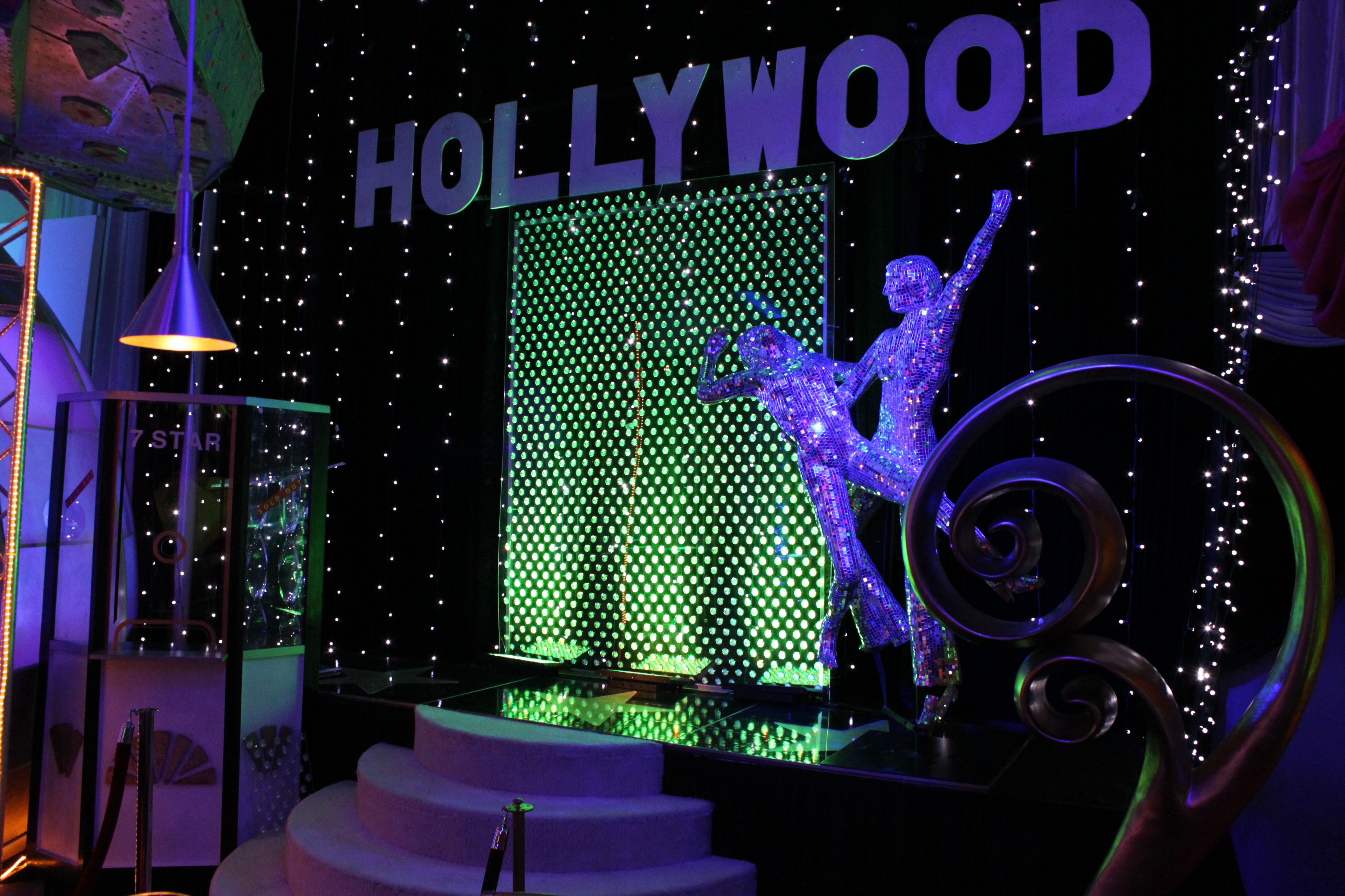 Hollywood Themed Staging