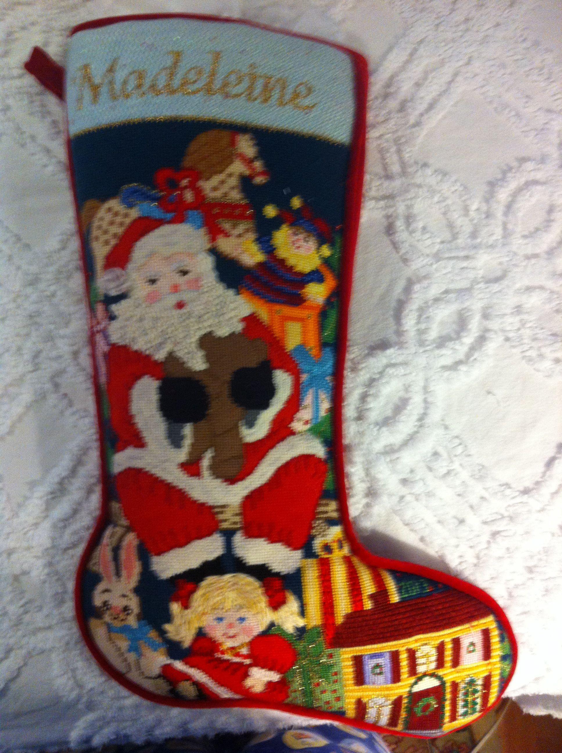 Madeleines stocking christmas stockings holiday decor