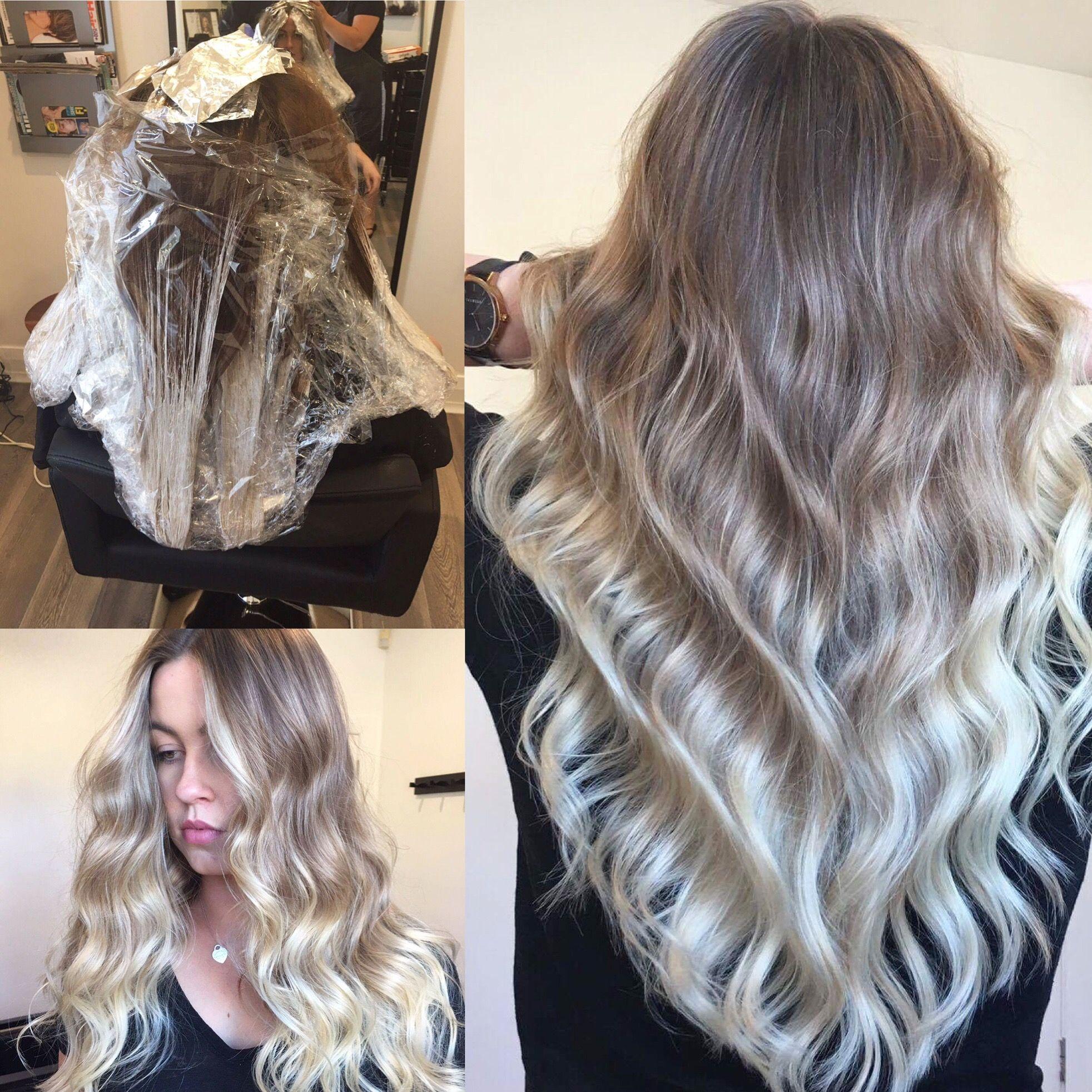 Lived in hair colour blonde bronde brunette golden tones balayage face framing blonde textured - Qu est ce qu un balayage ...