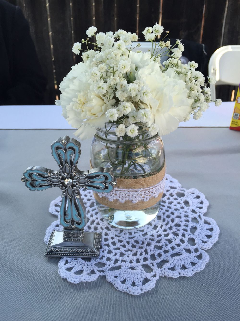 My Sons First Holy Communion Centerpieces Centerpieces