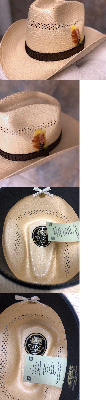 af50a507 Hats 52365: Vintage Straw Stetson Roadrunner Bryantcote Cowboy Hat Size 7-1  8 | Never Worn! -> BUY IT NOW ONLY: $59.25 on eBay!