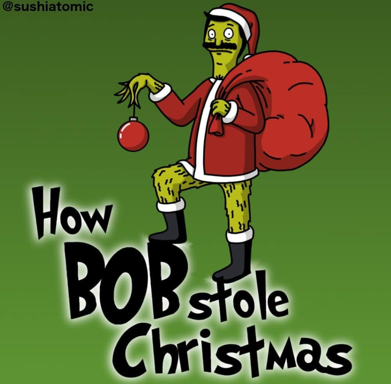 How Bob Stole Christmas Bob S Burgers Bobs Burgers Bobs Burgers Christmas Bobs Burgers Wallpaper