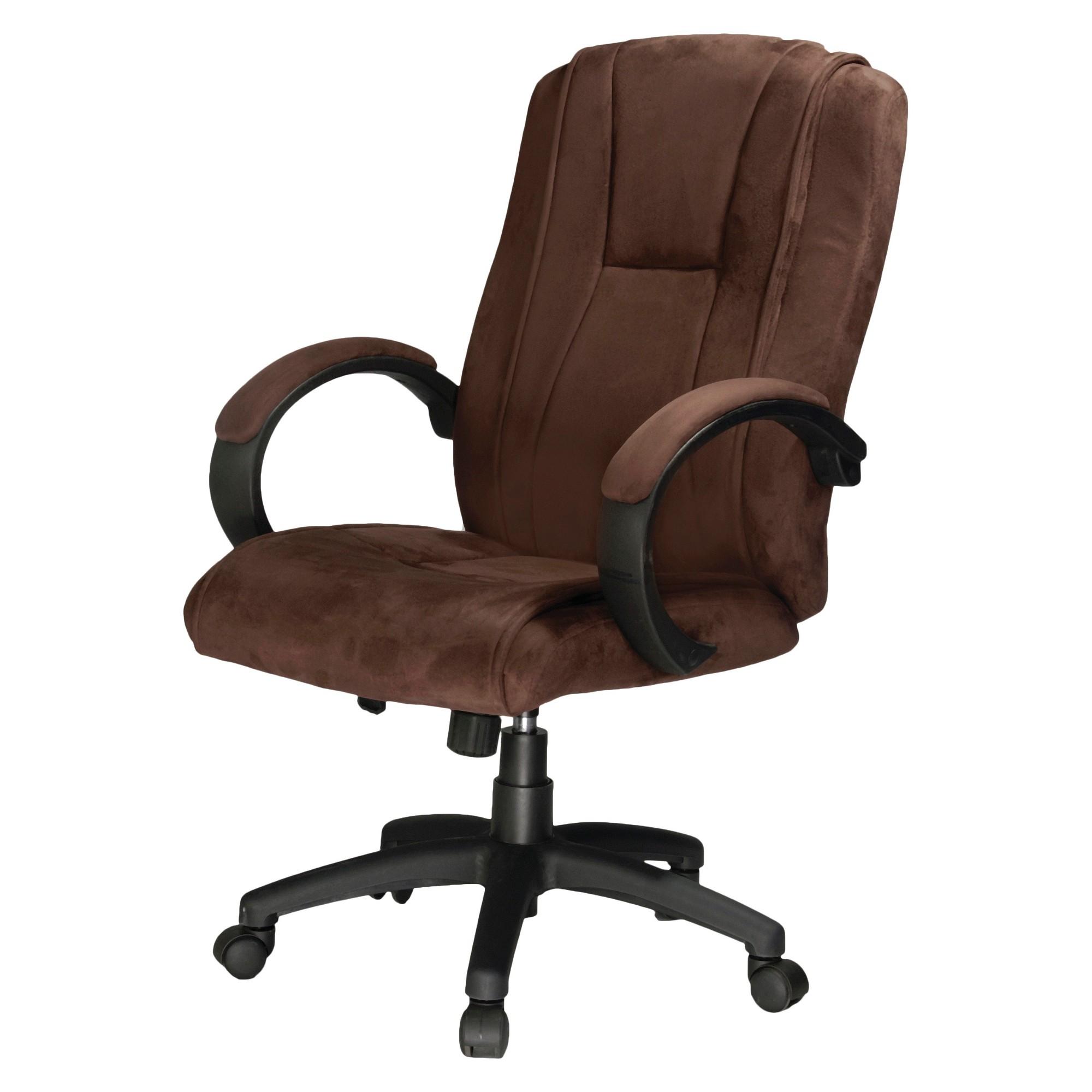 Padded Microfiber Fabric Executive Chair