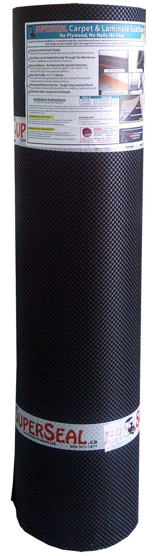 SUPERSEAL Carpet & Laminate Subfloor Underlayment 324 ft²