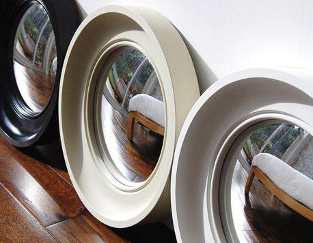 small cavetto decorative convex mirror hand finished omelo