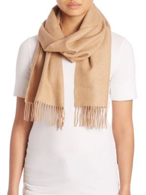 BURBERRY Embroidered Cashmere Scarf. #burberry #scarf