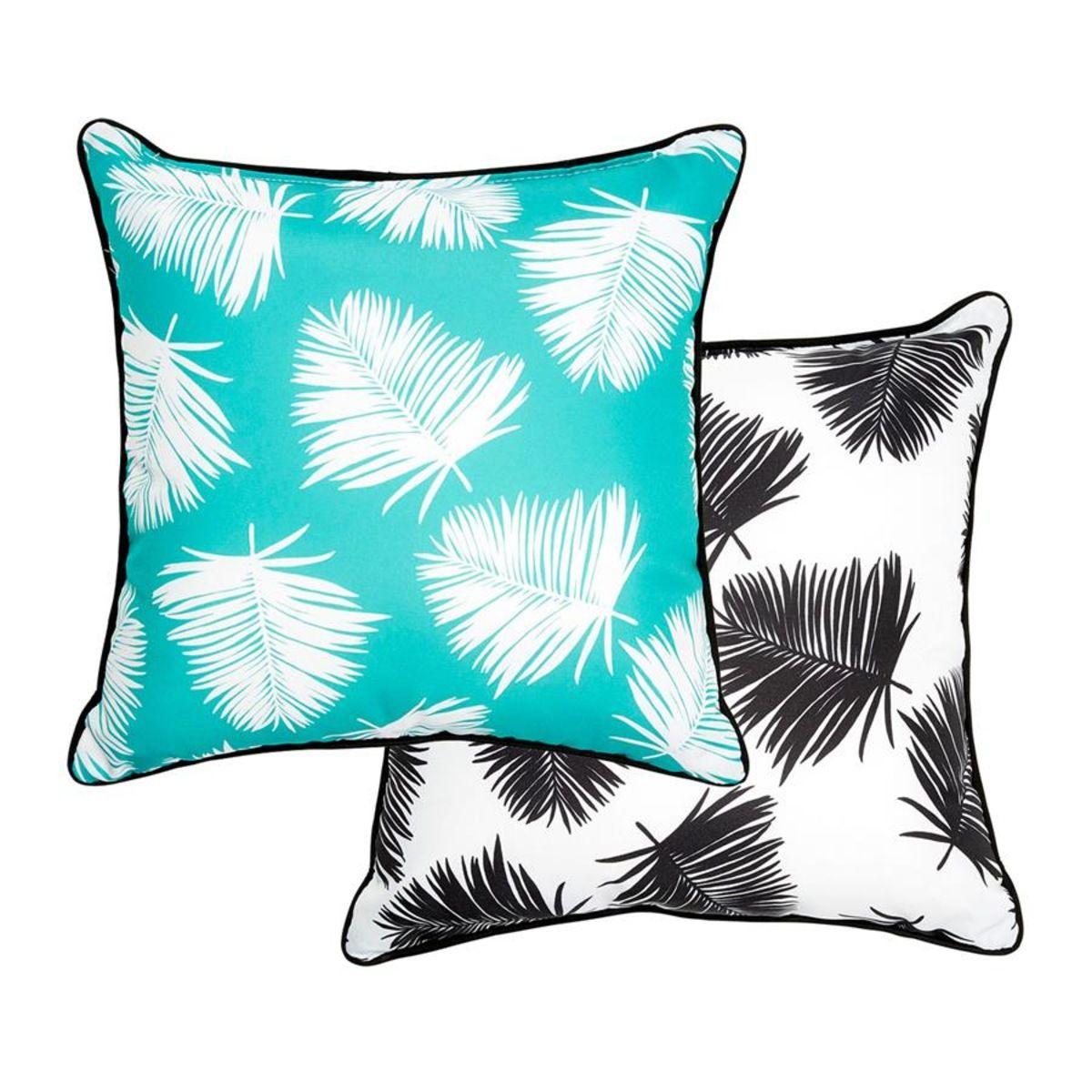 Reversible Cushion Island Palm Kmart Cushions