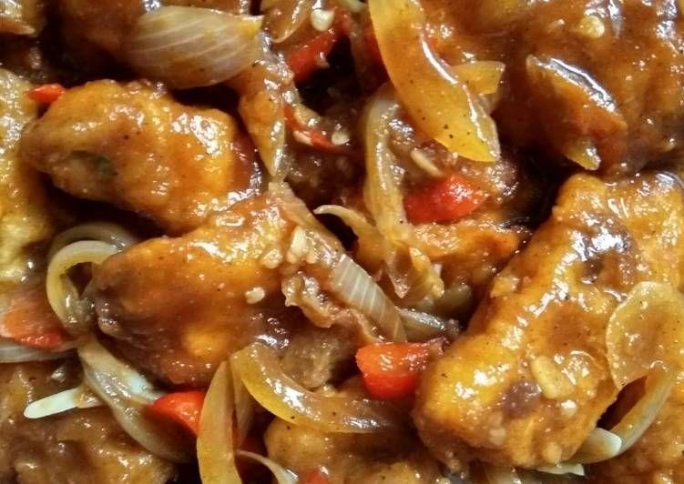 Resep Ayam Goreng Saus Tiram Oleh Muna El Jalal Resep Ayam Goreng Saus Tiram Resep Makanan