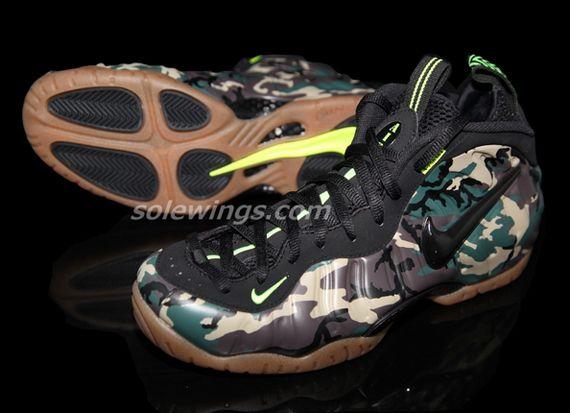 "new concept 6c9f3 e447b Nike Air Foamposite Pro ""Camo/Gum"" | Feet wear | Nike shoes ..."