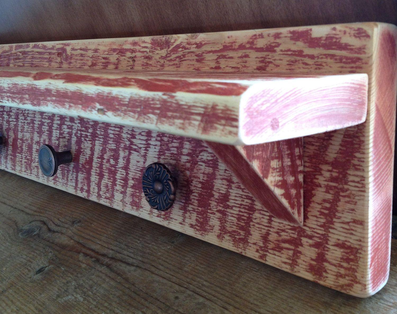 Rustic Barn Wood Shelf | Pallet Love | Pinterest | Tarimas y Madera