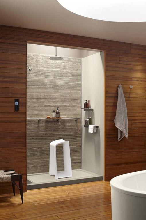 Pin By Kohler On Teak Textured Bathrooms In 2019 Bathroom