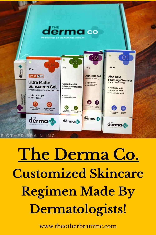 The Derma Co. Customized Skincare Regimen! in 2020