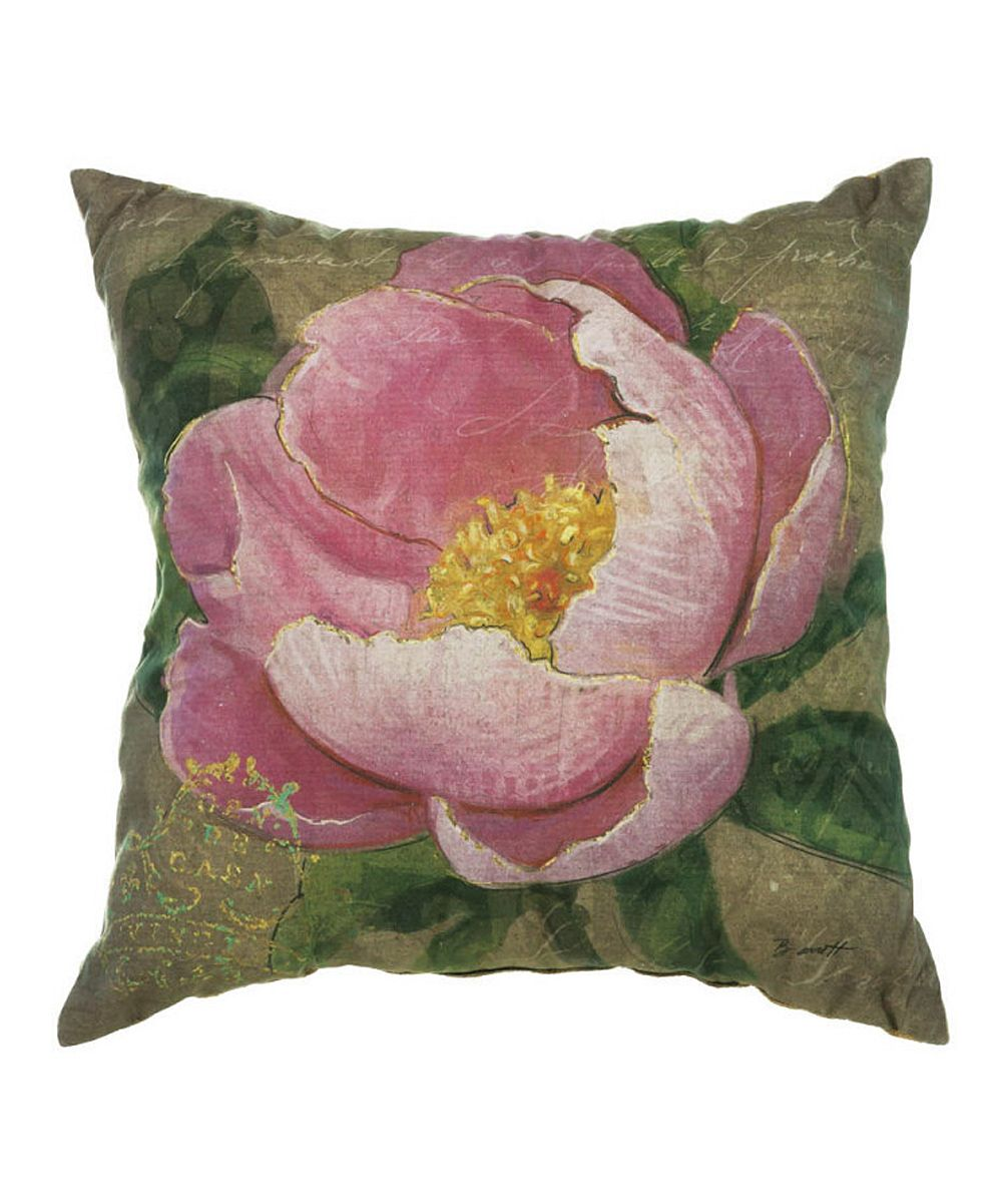 Pink Flower Pillow Pascale Lemay Lemay De Groof Flowers In Art