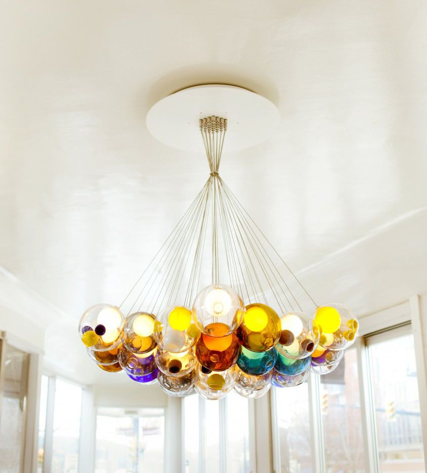 Bocci Pendant Chandelier Bocci 20 Series By Omer Arbel For Bocci Urban Lighting San Diego Ca With Images Chandelier