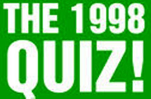 The Definitive 1998 Australian Quiz