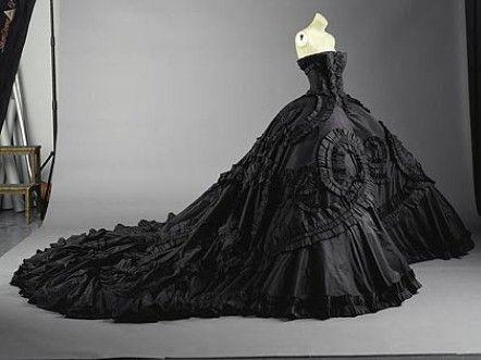 Dior Black Ball Gowns