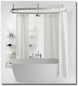 Bathroom Curtains Clawfoot Tub Bathroom Bathroom Shower Design