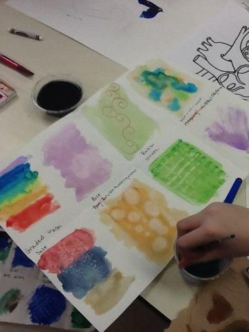 Art Class Marbles High School Art Projects Elementary Art