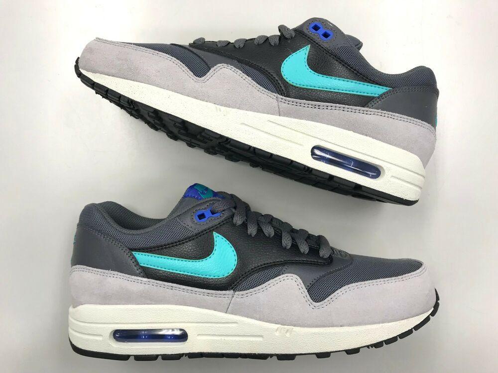 0edd89f9c0 DS Nike Air Max 1 Essential Hyper Jade grey women/men shoes 87 90 2 5 6 vtg  #fashion #clothing #shoes #accessories #mensshoes #athleticshoes (ebay link)