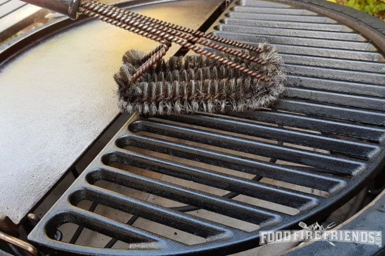 How to clean cast iron grill grates if rusty or just
