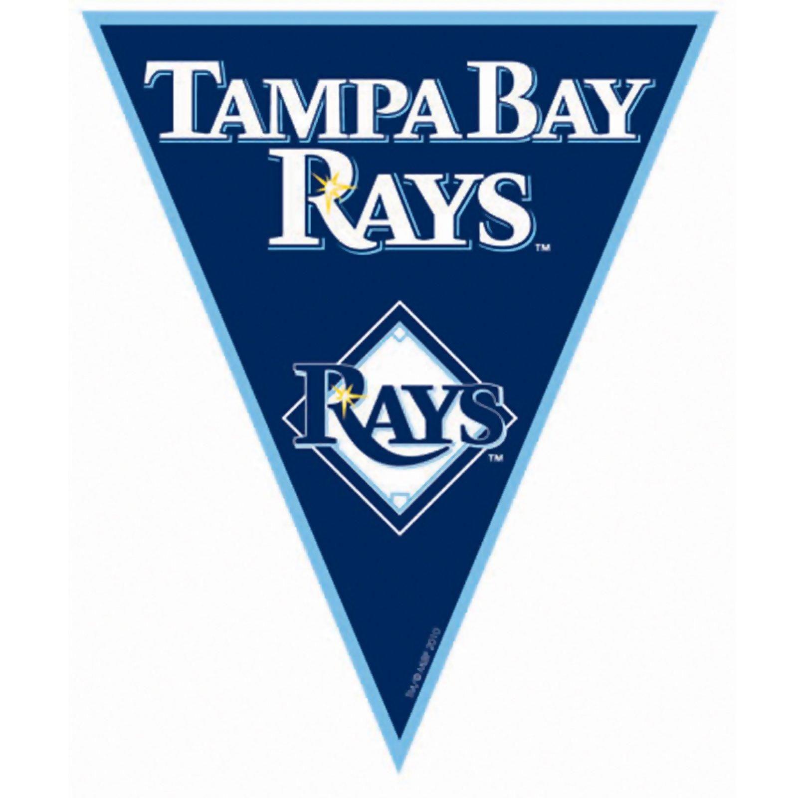 Tampa Bay Rays Baseball Pennant Banner Rays Baseball Tampa Bay Rays Tampa Bay Rays Baseball