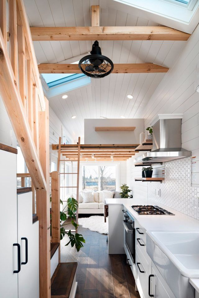 Light-filled tiny house offers a relaxing soak