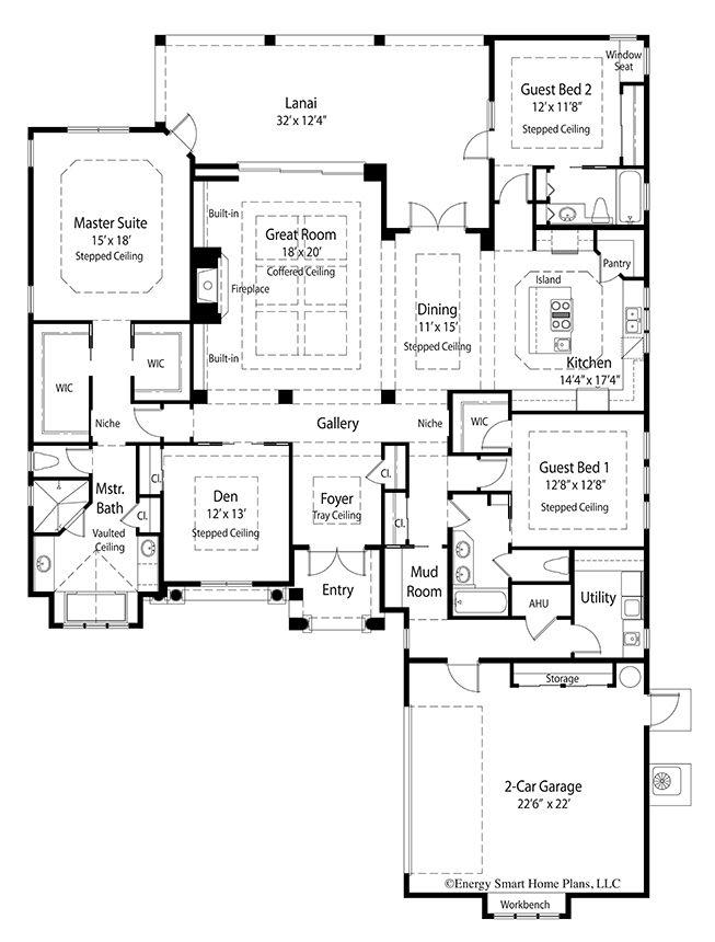 Mirabello House Plan 327 3 Bed 3 Bath 2 780 Sq Ft