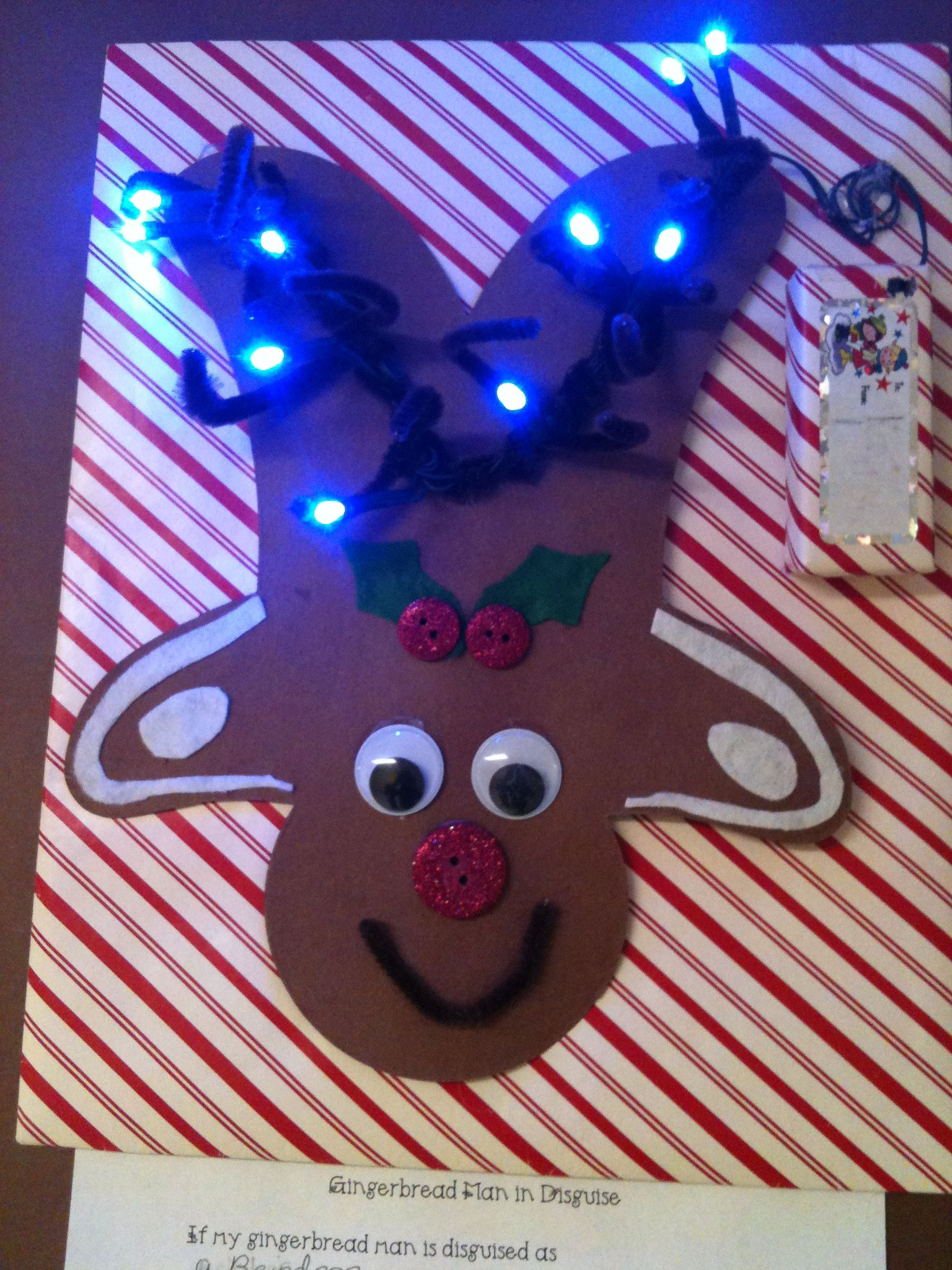 Gingerbread Man In Disguise My 2Nd Graders Have Created Some