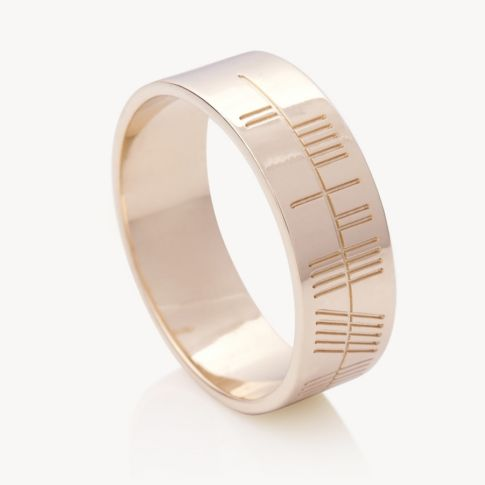 p gold wedding uk rings white the ogham in ring