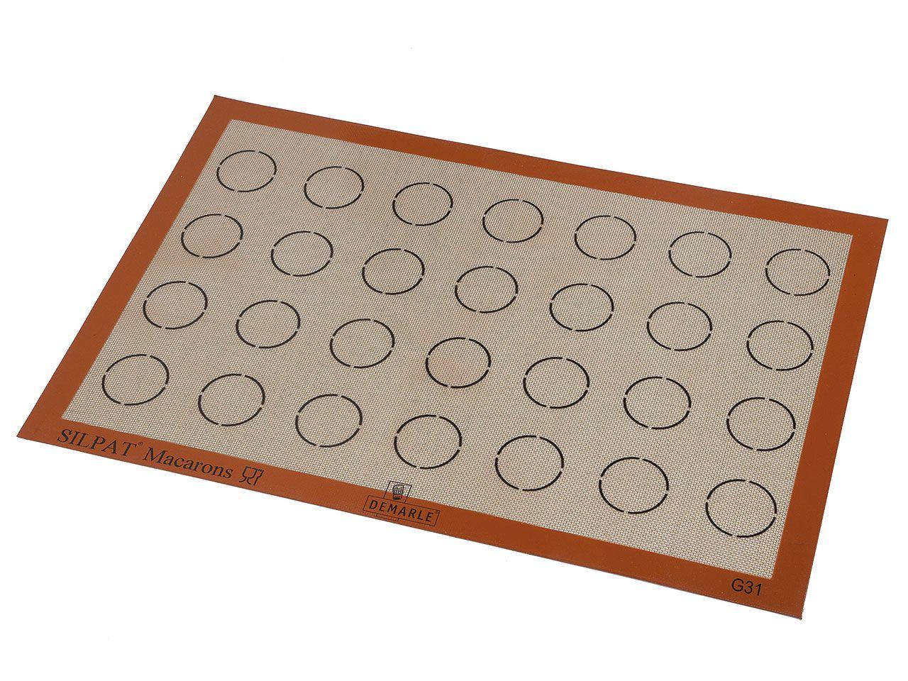 Toile à macarons Silpat (58,5 x 38,5 cm)
