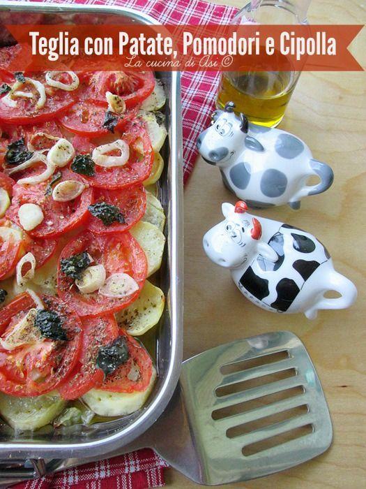 teglia patate pomodori cipolle La cucina di ASI