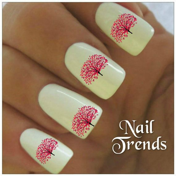 Tree Nail Decal 20 Vinyl Stickers Art By Nailtrends On Etsy 2 65