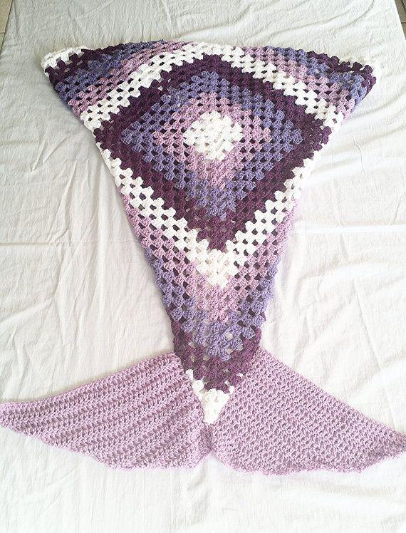 Manta de sirena Se trata de un manto de cola de sirena. Es una manta ...