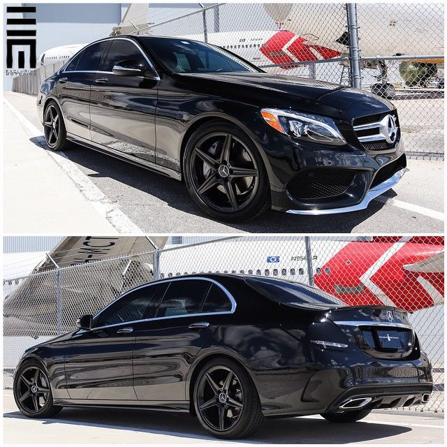 2015 Mercedes-Benz C-Class With Smoked Tail Lights