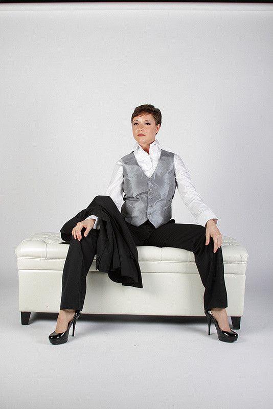 Womens Tuxedo From Wwwhertuxedocom  Formal Wear Women -4045