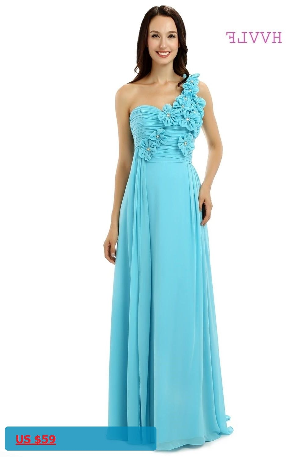 Turquoise 2018 cheap bridesmaid dresses under 50 a line one shoulder turquoise 2018 cheap bridesmaid dresses under 50 a line one shoulder floor length chiffon ombrellifo Choice Image