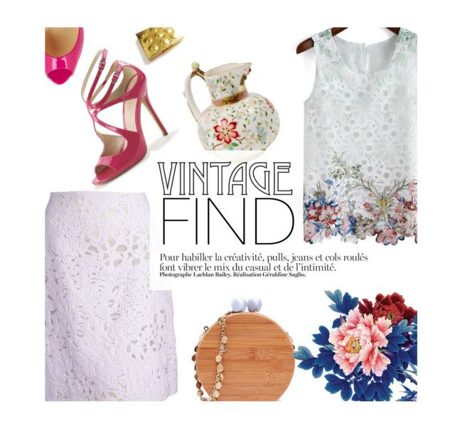 """""""Your Favorite Vintage Find"""" by malussieversii ❤ liked on Polyvore"""