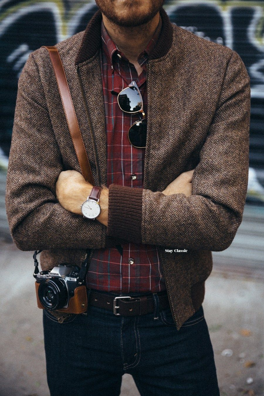 Tweed Bomber Jacket Google Search Mens Outfits Mens Fashion Suits Mens Fashion Casual [ 1350 x 900 Pixel ]