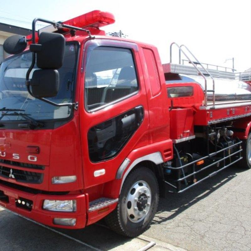 2008 Mitsubishi Fuso Fire Fighter Truck Pdg Fk62fz In 2020 Used Trucks For Sale Truck Tank Stainless Steel Tanks